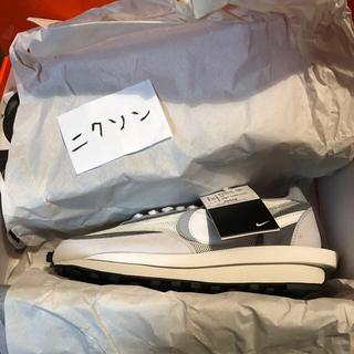 ナイキ(NIKE)のNike LD Waffle Sacai White Grey(スニーカー)