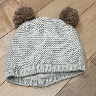ザラキッズ(ZARA KIDS)のZARA baby ベビーくまちゃんニット帽(帽子)
