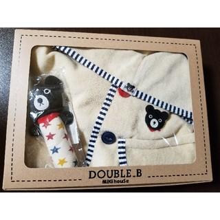 ダブルビー(DOUBLE.B)のダブルビー ポンチョとラトル(カーディガン/ボレロ)
