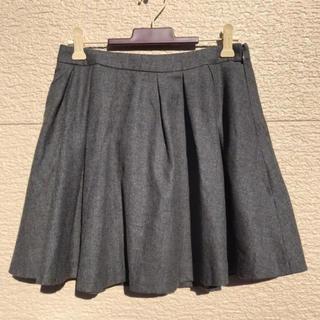グレースコンチネンタル(GRACE CONTINENTAL)のグレースコンチネンタル スカート グレー 36(ミニスカート)