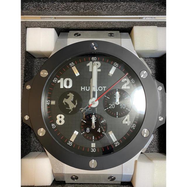 HUBLOT - HUBLOT ウブロ 壁掛け 時計 レア品の通販 by 世界の山根's shop