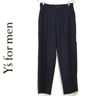 ワイズ(Y's)のY's for men 2タックパンツ スラックス ヨウジヤマモト(スラックス)