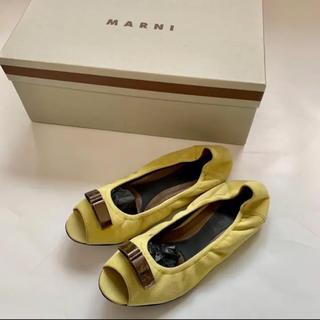 Marni - 元値6.7万 MARNI マルニ フラットシューズ 35 22.5 レディース