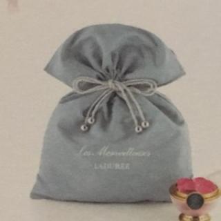 レメルヴェイユーズラデュレ(Les Merveilleuses LADUREE)のレ・メルヴェイユーズ ラデュレ 巾着 ノベルティ 未使用品(その他)