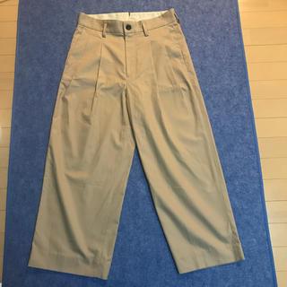 サンシー(SUNSEA)の専用 URU2tuck pants 19ss(チノパン)