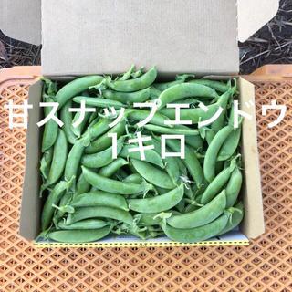 鹿児島産甘スナップエンドウ箱込み1キロ^_^(野菜)
