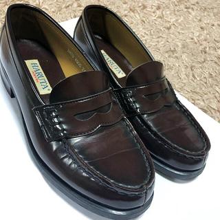 ハルタ(HARUTA)のmarin様専用♡ローファー ハルタ 茶色 24.5cm(ローファー/革靴)