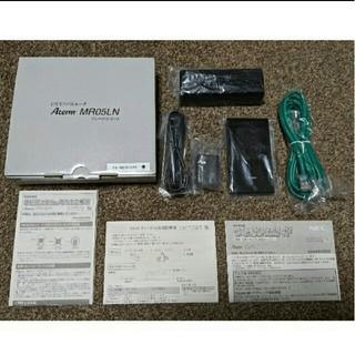 エヌイーシー(NEC)のAterm MR05LN クレードルセット【付属品完備】(PC周辺機器)