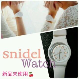 スナイデル(snidel)の【新品未使用】snidel ウォッチ 腕時計 スナイデル(腕時計)