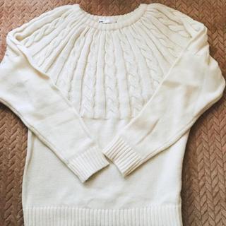 イッカ(ikka)のikka メンズ セーター ニット Mサイズ 未使用に近い 冬物 トップス(ニット/セーター)