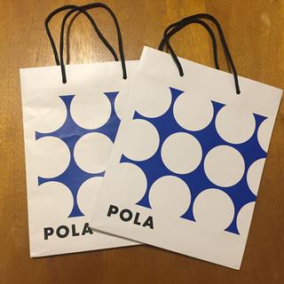 ポーラ(POLA)のポーラ 紙袋 2枚セット(ショップ袋)