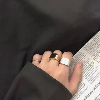 【未使用・新品】マルジェラ 風シルバーリング 10号(リング(指輪))