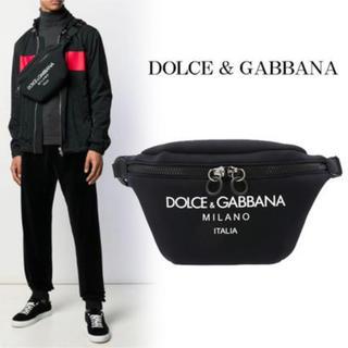 ドルチェアンドガッバーナ(DOLCE&GABBANA)のDolce&Gabbana 美品 チャーム付き(ボディーバッグ)