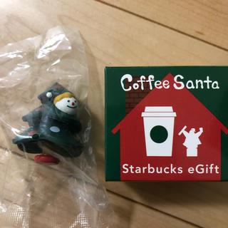 スターバックスコーヒー(Starbucks Coffee)のスタバ コーヒーサンタ 2019(ノベルティグッズ)