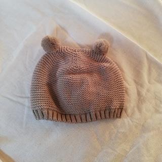 ザラキッズ(ZARA KIDS)のZara Baby ポンポン付きケーブルニットキャップ(帽子)