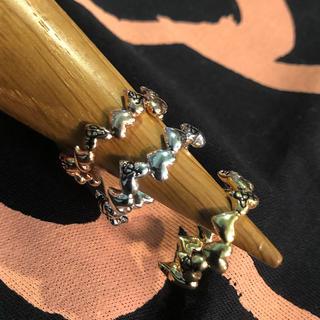 ヴィヴィアンウエストウッド(Vivienne Westwood)の新品 ヴィヴィアン ハートシェイプリング orbシルバー(リング(指輪))