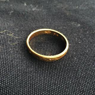 18金 指輪 【刻印あり】(リング(指輪))