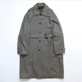 サンシー(SUNSEA)のstein OVER SLEEVE INVESTIGATED COAT (ステンカラーコート)