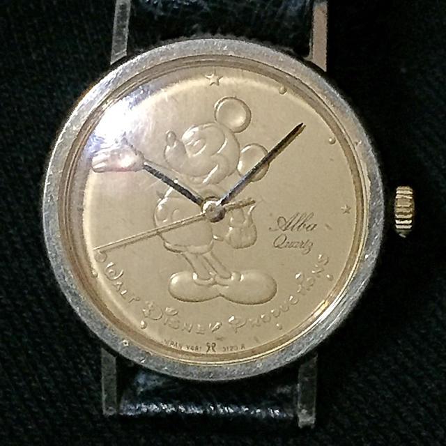 """オメガn / ALBA - SEIKO ALBA """"ミッキーマウス"""";【old】'80's アナログ腕時計の通販 by Gaspard's Shop"""