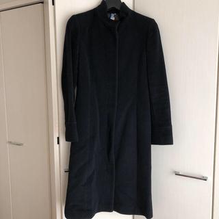 アールユー(RU)の黒 ロングコート(ロングコート)