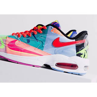 ナイキ(NIKE)のatmos × NIKE AIR MAX 2 LIGHT QS 28.0cm(スニーカー)