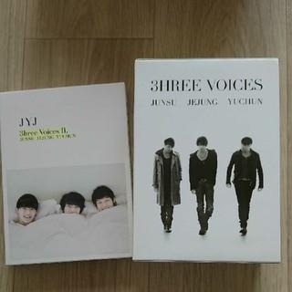 ジェイワイジェイ(JYJ)のJUNSU/JEJUNG/YUCHUN/3HREE VOICES〈4枚組〉(韓国/アジア映画)