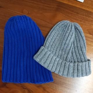 ジーユー(GU)のGU子供用ニット帽(帽子)