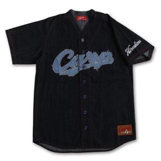 広島東洋カープ - カープ デニムユニフォーム型シャツ Mサイズ