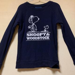 スヌーピー(SNOOPY)のjOUR de Language ピーナッツ スヌーピートレーナー スウェット(トレーナー/スウェット)