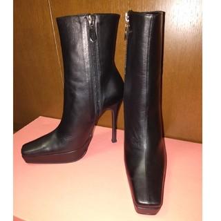 コメックス(COMEX)のあんず様専用COMEX コメックス ショートブーツ 黒  23.5cm(ブーツ)