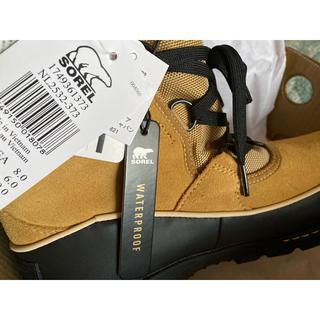 ソレル(SOREL)の新品タグ付き ティボリ ソレル タウン 雪山 ブーツ(ブーツ)