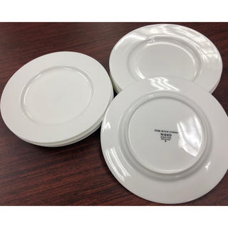 ニッコー(NIKKO)の★NIKKO お皿 平皿 白色 10枚セット★(食器)