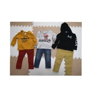 ブランシェス(Branshes)の男の子 90センチ 冬服セット(その他)