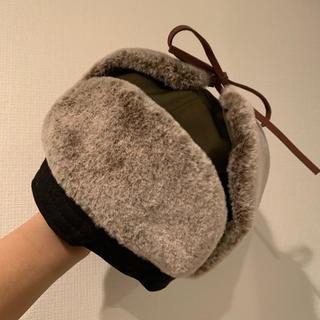 ザラキッズ(ZARA KIDS)の【新品未使用美品】フライトキャップ(帽子)