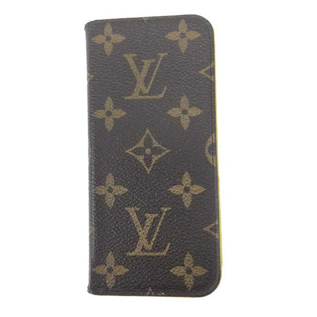LOUIS VUITTON - ルイヴィトン VUITTON フォリオ モノグラム iPhone7ケースの通販
