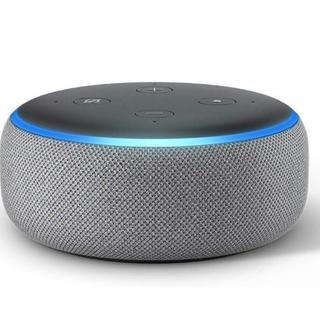 エコー(ECHO)の新品 Echo Dot (エコードット)第3世代 - ヘザーグレー(スピーカー)