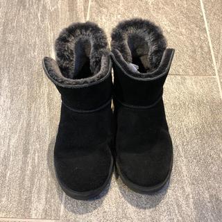 アグ(UGG)のUGG ムートンブーツ 22cm ブラック(ブーツ)