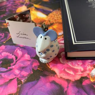 リサラーソン(Lisa Larson)の Lisa Larson リサラーソン 北欧 マウス キーホルダー (キーホルダー)