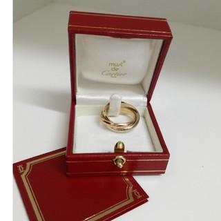 カルティエ(Cartier)のCartierカルティエ750 大きいサイズ  トリニティリング 18号(リング(指輪))
