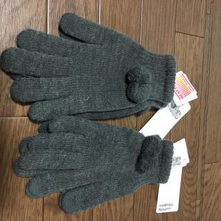 ユニクロ(UNIQLO)のユニクロヒートテック手袋(*^^*)164(手袋)