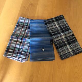 マンシングウェア(Munsingwear)のmunsingwear ハンカチ 3枚(ハンカチ/ポケットチーフ)