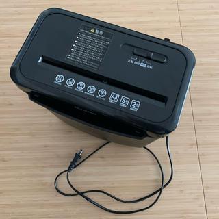 アイリスオーヤマ(アイリスオーヤマ)のアイリスオーヤマ シュレッダー ブラック P5GCX(オフィス用品一般)