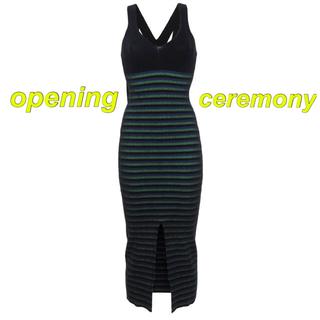 オープニングセレモニー(OPENING CEREMONY)のopening ceremony 7分丈ワンピース(ロングワンピース/マキシワンピース)