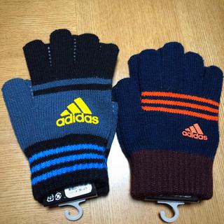 アディダス(adidas)の【新品】アディダス adidas ジュニア 手袋 2セット(手袋)