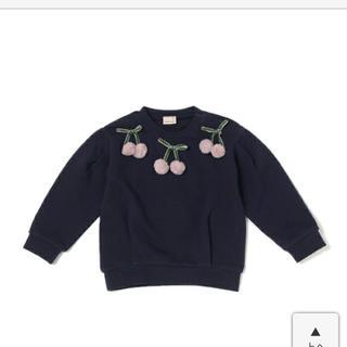 プティマイン(petit main)のプティマイン さくらんぼ トレーナー(Tシャツ/カットソー)