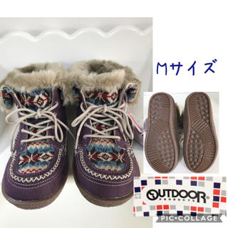 アウトドアプロダクツ(OUTDOOR PRODUCTS)の【未使用品】女性 M《OUTDOOR》(ムートン)ブーツ(ブーツ)