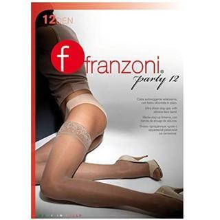 ウォルフォード(Wolford)の★新品イタリア製franzoni シリコンバンド付きガーターストッキング 肌色➁(タイツ/ストッキング)