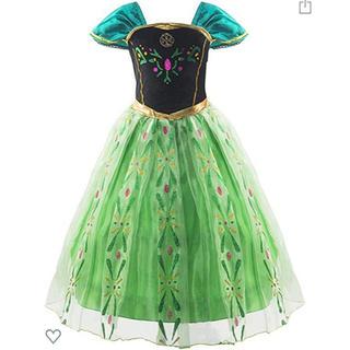 アナトユキノジョオウ(アナと雪の女王)のアナと雪の女王♡アナ♡ドレス♡100センチ(衣装)