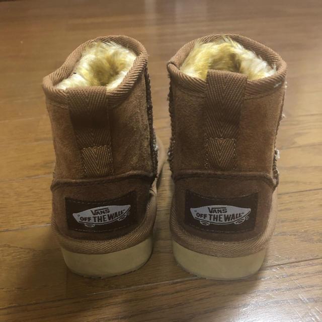 VANS(ヴァンズ)のvansムートンブーム キッズ/ベビー/マタニティのキッズ靴/シューズ(15cm~)(ブーツ)の商品写真