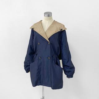 《Vintage Old》カシュクール パーカー ジャケット ブルゾン コート(ブルゾン)